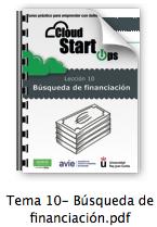 Emprende en Internet - Tema 10 - Búsqueda de Financiación